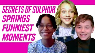 Secrets of Sulphur Springs Disney Channel Cast Talk Funniest Moments and More