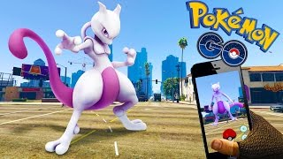 Searching for Rare Pokemon in GTA 5Pokemon GO! Grand Theft Auto 5 P...