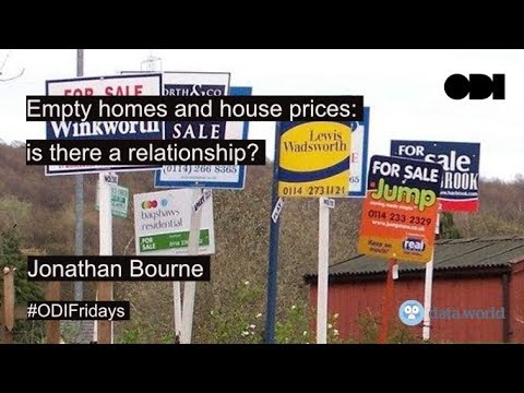 Friday lunchtime lecture: Empty homes and house prices: is there a relationship?