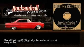Ricky Nelson - Stood Up (1958) - Digitally Remastered 2012 - Rock N Roll Experience