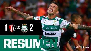 embeded bvideo Resumen | Atlas 1 - 2 Santos Laguna | Liga MX - Apertura 2019  - Jornada 3