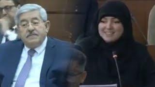 في خضم الوضع الذي تعيشه الجزائر .. شاهدوا ماذا طلبت النائبة حليمة زيدان من الوزير الأول أويحيى؟!