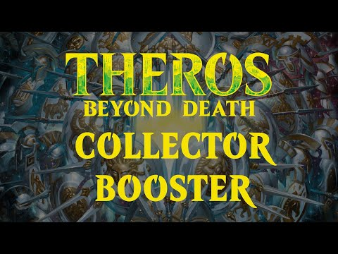 Theros Beyond Death Collect Booster - avamine ja sisu.