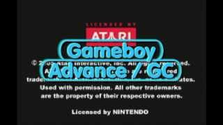 Gameboy Advance gaming (GC) - Centipede (cart)