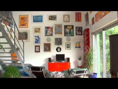 une maison en charpente metallique par patrick partouche youtube. Black Bedroom Furniture Sets. Home Design Ideas