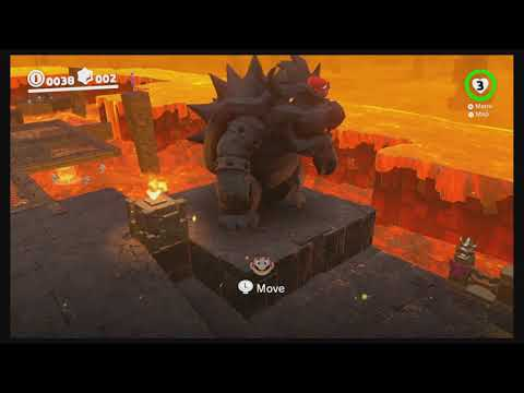 Moon 9 Moon Kingdom - Under the Bowser Statue