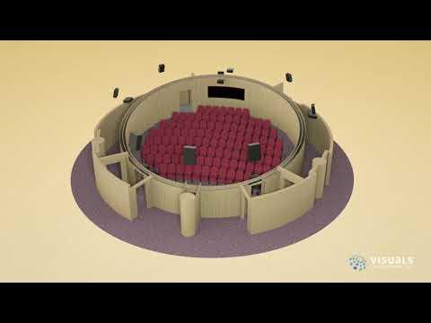 Children's City Planetarium, Dubai – Visuals Attraction Upgrade Project 2020