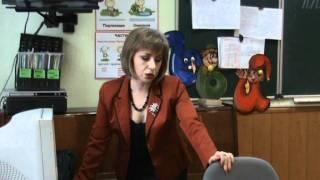 Открытый урок русского языка в 4-Б классе (2011)