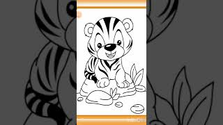Drawing and coloring games for kids #kids #games