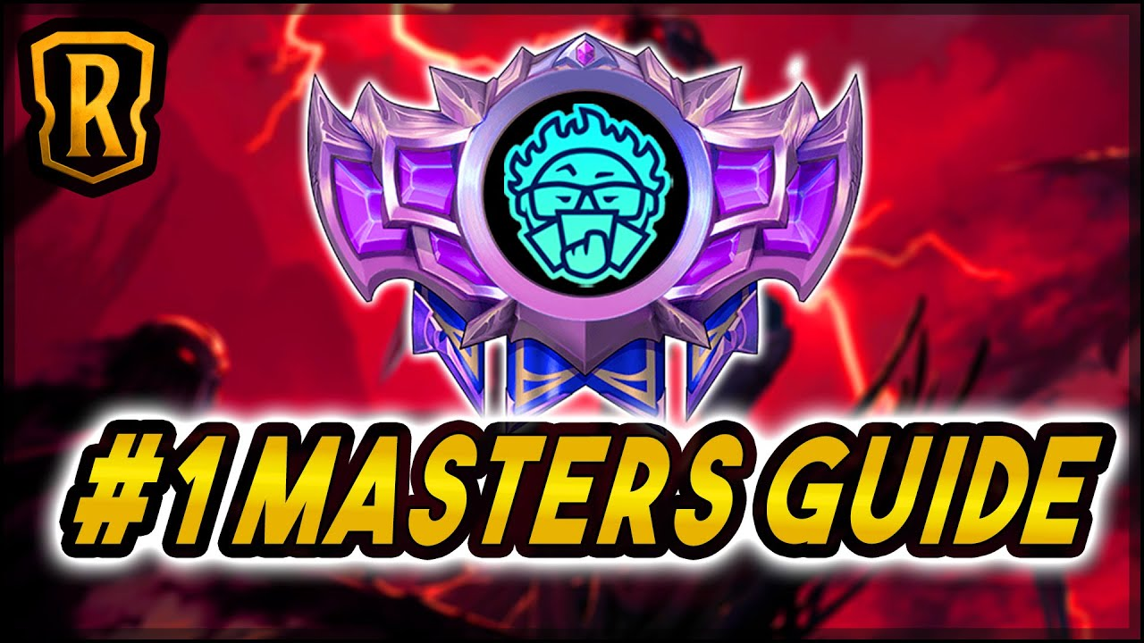 The Deck I Got to #1 Masters With (Full Guide) | Ranked Ladder | LoR Game | Legends of Runeterra