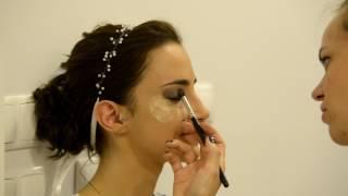fryzura i makijaż ślubny - Magdalena