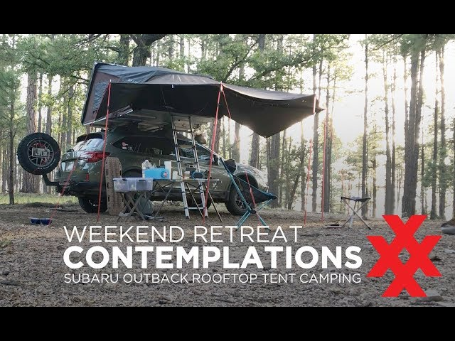 Solo Retreat with the Subaru Outback Overland iKamper by 4XPEDITION