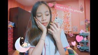 What's in my phone/อะไรอยู่ในโทรศัพท์ของอูมิ | UMI'S VIDEO |