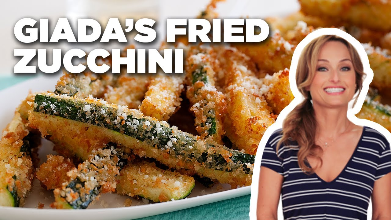 Crispy Fried Zucchini with Giada De Laurentiis | Food Network