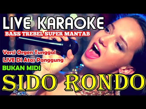 Karaoke Sido Rondo Sido Rondo Karaoke Sido Rondo Minus One Sido Rondo Tanpa Vokal