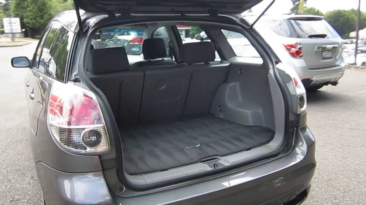 2006 Toyota Matrix, Dark Gray   STOCK# 13785B   Interior   YouTube
