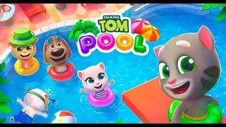 TALKING TOM POOL ✔ KING OF THE POOL - Talking Tom Games part-1