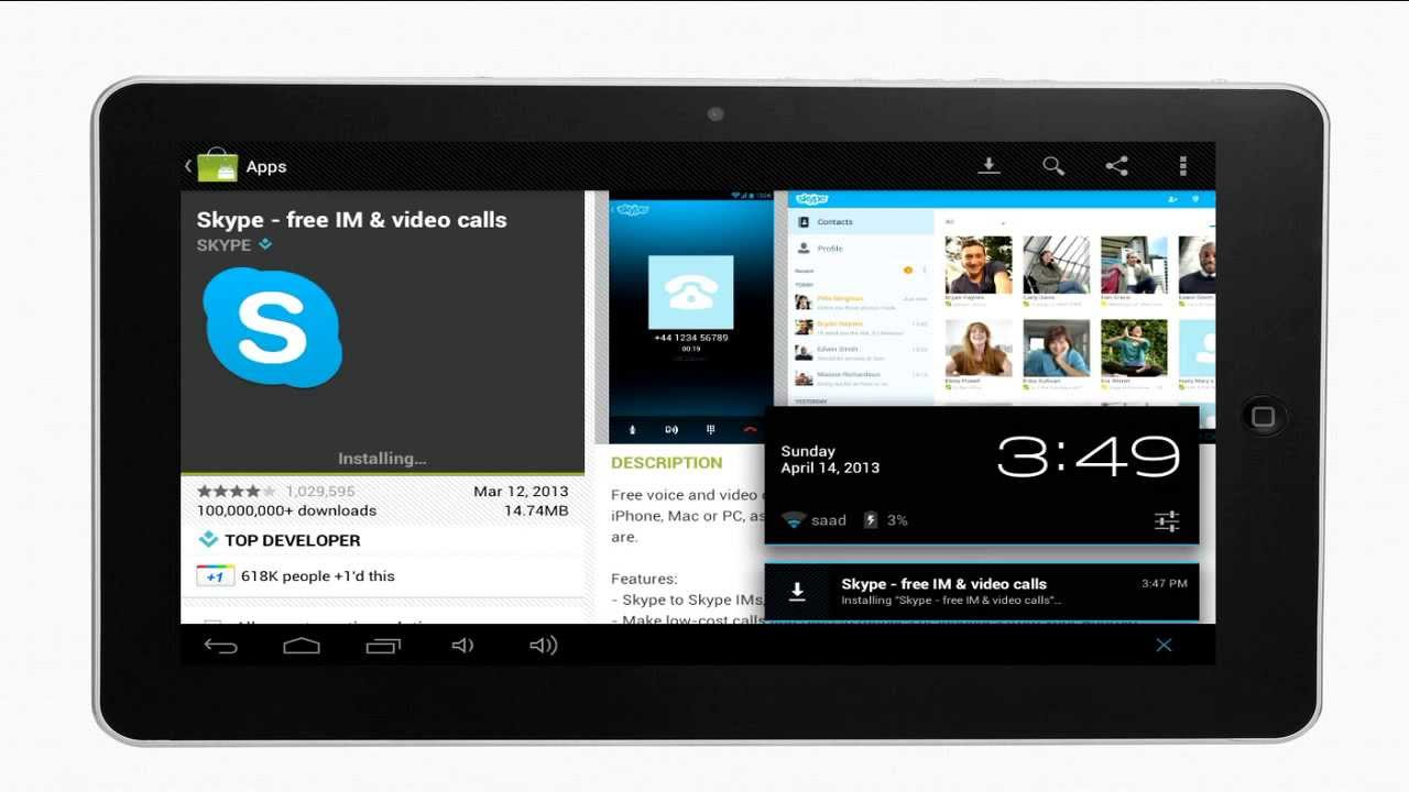How to install Skype on the tablet: a step by step guide 19