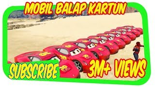 Video MOBIL BALAP KARTUN Mcqueen Transportasi dan Spiderman Mobil Balap Kartun CAR GAMES FOR CHILDREN download MP3, 3GP, MP4, WEBM, AVI, FLV April 2018
