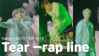 190119 BTS _ Tear (rap line) @LYS tour in Singapore
