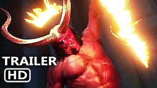 HELLBOY Trailer # 2 (NEW 2019) David Harbour, Sci-Fi Movie HD