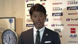 ホークス公式 侍ジャパントップチーム稲葉監督囲みインタビュー 20200211