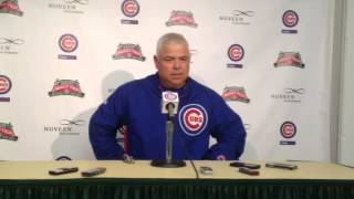 Renteria not surprised Giants protesting