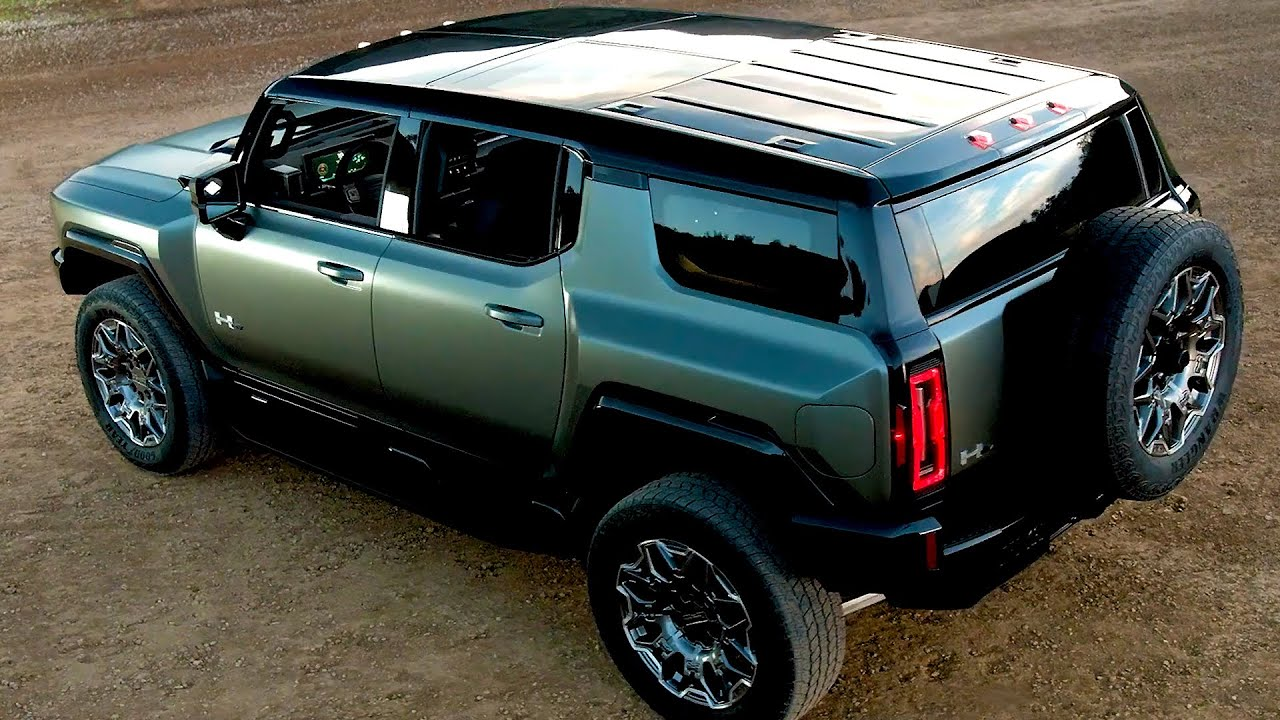 همر اي في الكهربائيه الجديده 2024 GMC Electric Hummer SUV