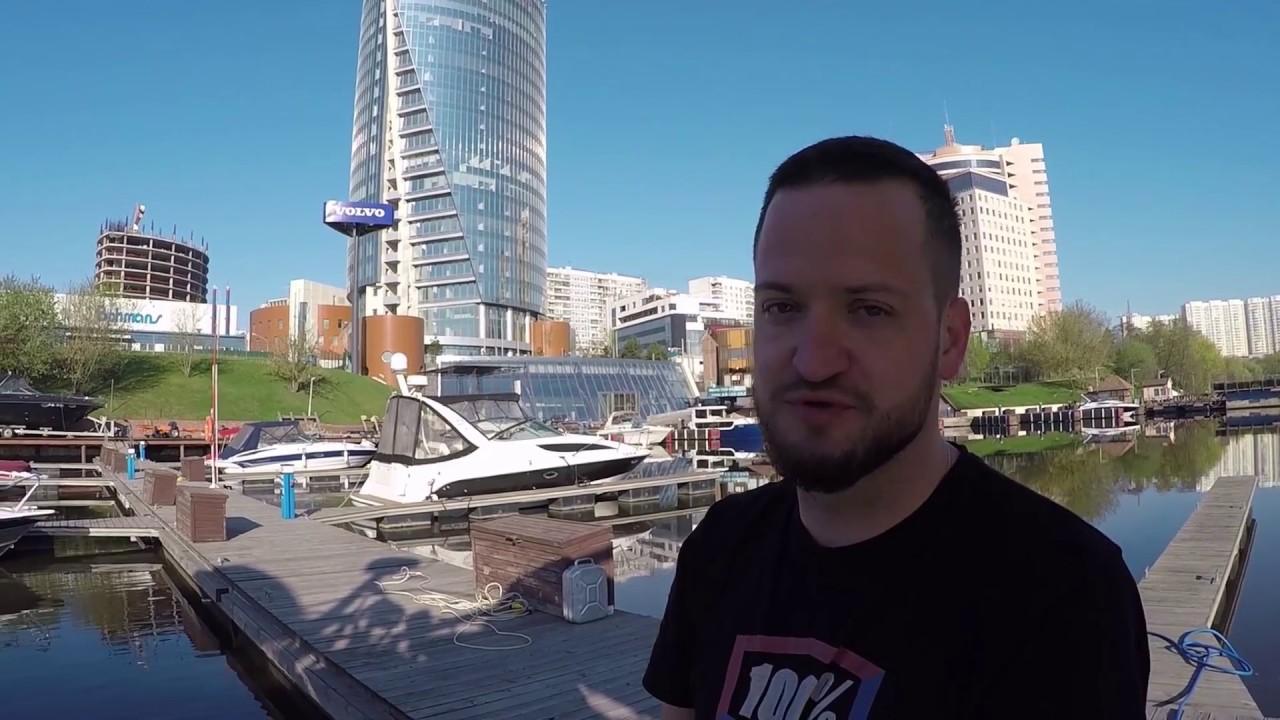 Москва - Сочи по воде (эпизод 1: Москва, кремль)