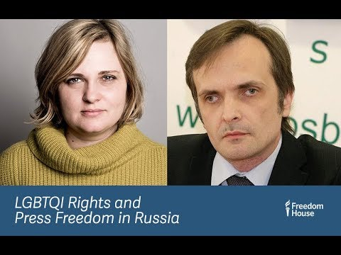 In Conversation: LGBTQI Rights and Press Freedom in Russia
