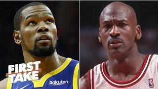 Kevin Durant will be on Michael Jordan's level if Nets win a title – Max Kellerman | First Take