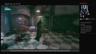 1 hour live stream batman arkham knight FULL