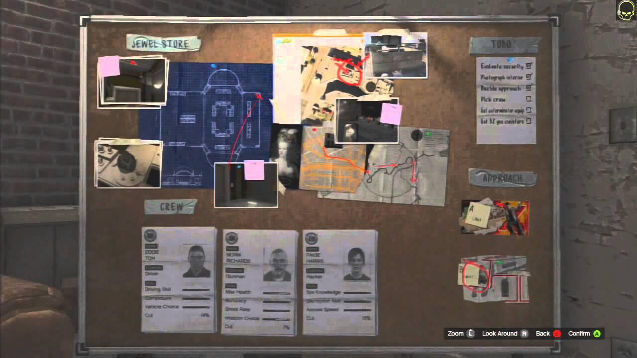 Lets Play GTA 5 Pt022 Vangelico Heist The Plan YouTube