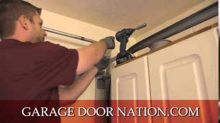 Garage Door Torsion Springs Replacement Tutorial