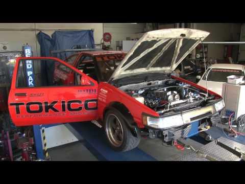 1800cc Toyota 4AG Stroker Motor - Dyno