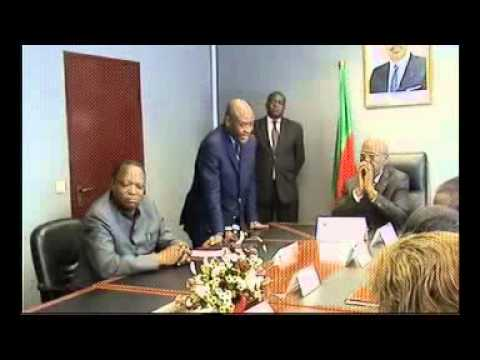 "Signature ""MOU"" - NOHA NYAMEDJO & MINMIDT - Cameroun"