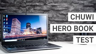 Chuwi HeroBook Test: Lohnt sich ein Notebook für unter 200 Euro?