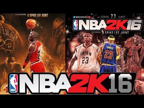 NBA 2K16 - Official Michael Jordan vs LeBron James Fan-Made Trailer and Gameplay