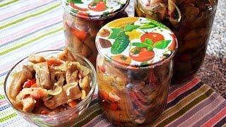 Баклажаны как грибы рецепт №1