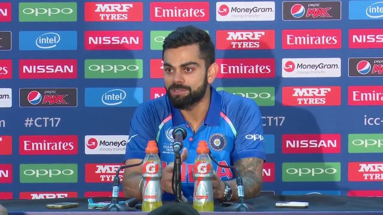 Image result for kohli press conference