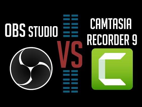 OBS Studio Vs Camtasia Recorder 9 - Best Recording / Screencast App 2018?
