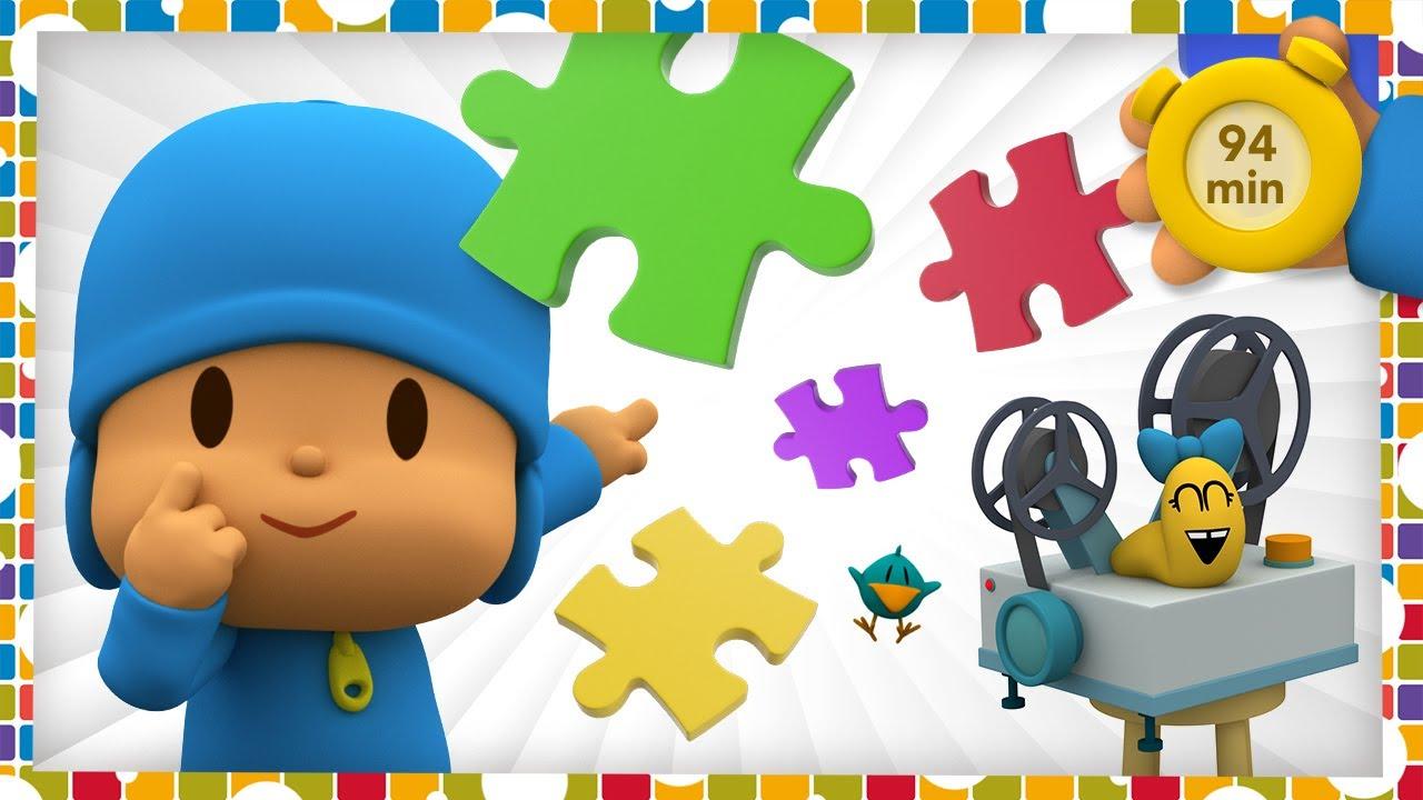 🎮 POCOYO AND NINA - Family Minigames Day [94 min]   ANIMATED CARTOON for Children   FULL episodes