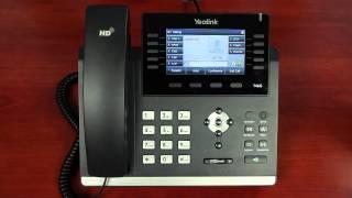 Yealink T46G - Managing Voicemail