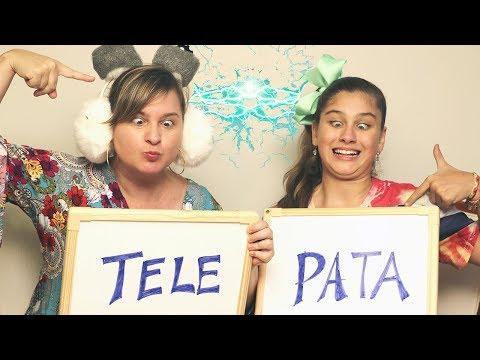 DESAFIO DA TELEPATIA - MÃE E FILHA (Twin Telepathy Challenge) Mileninha