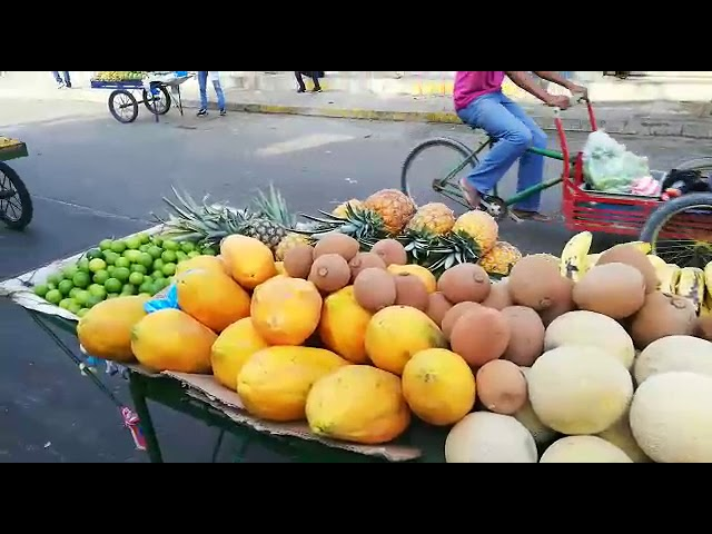 Venta de frutas en Santa Marta