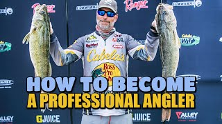 How To Become A Professional Angler