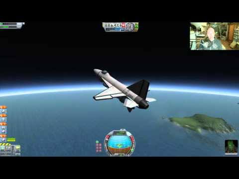 Kerbal - Air Launched Satellite & Blue Origin - Livestream