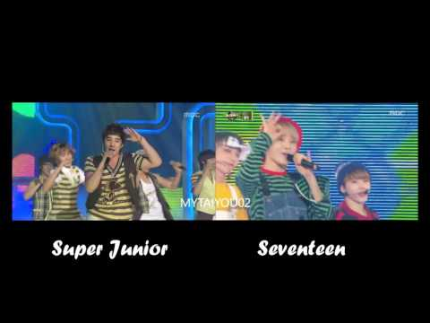 Super Junior VS Seventeen - Happiness
