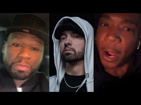 "Ja Rule Responds To Eminem Dissing Him On 'Killshot'.. ""You're A Clout Chaser"" + 50 Cent Reacts"