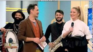 Letitia Moisescu &amp Sensibil Balkan - D A I N A ( Neatza cu Razvan si Dani,Antena 1)